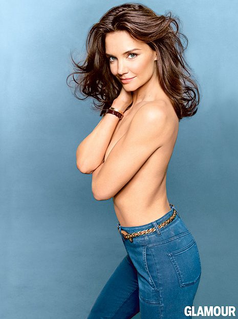 Katie Holmes Topless (Glamour)