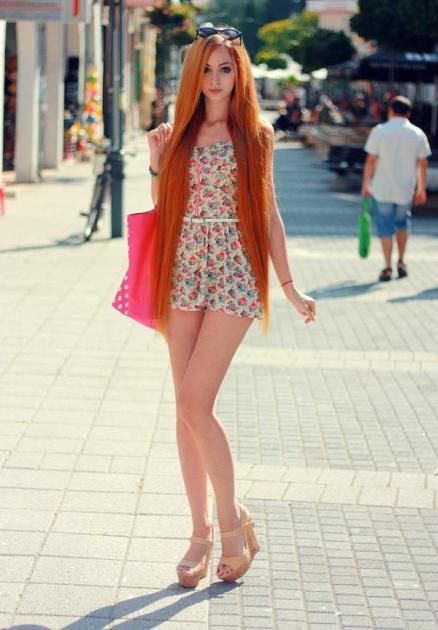 Alina Kovalevskaya, Human Barbie Pic