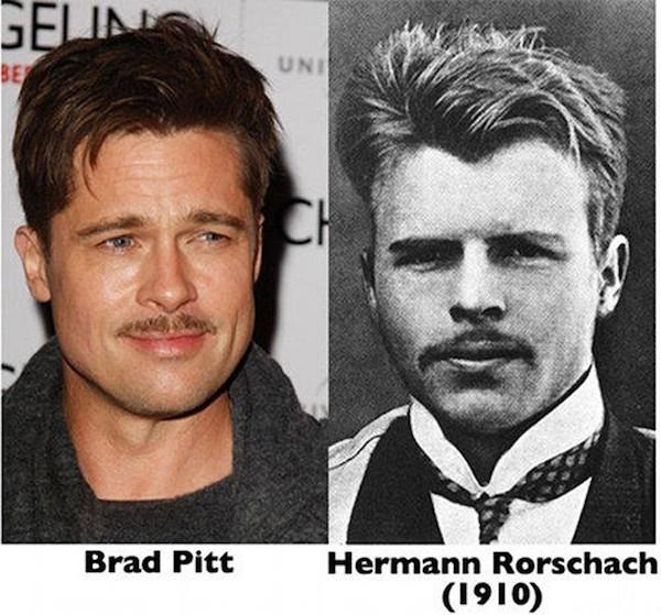 Brad Pitt and Hermann Rorschach