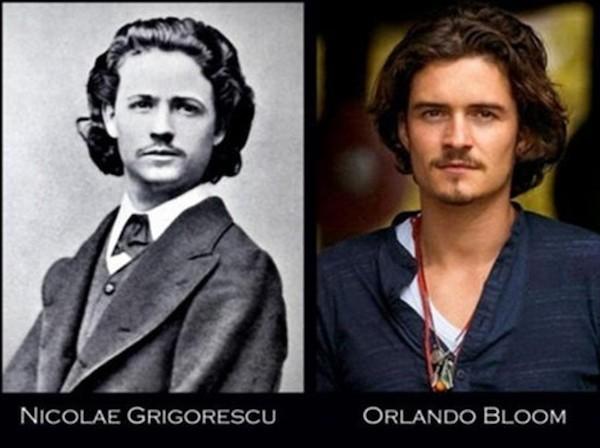 Orlando Bloom and Nicolas Grigorescu