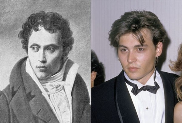 Johnny Depp and Arthur Schopenhauer