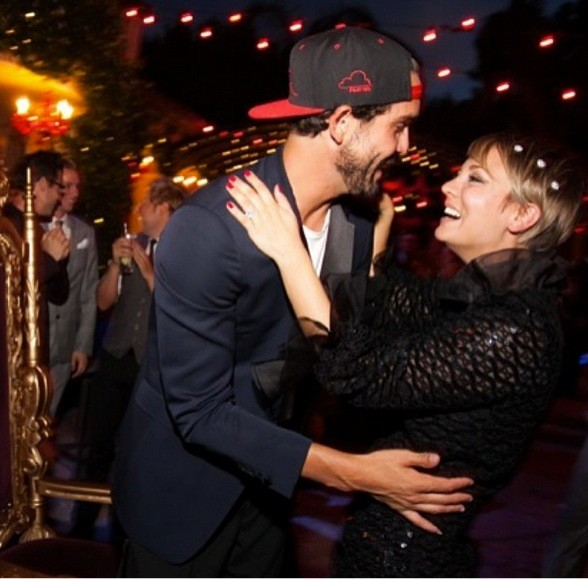 Kaley Cuoco and Ryan Sweeting Birthday Photo!
