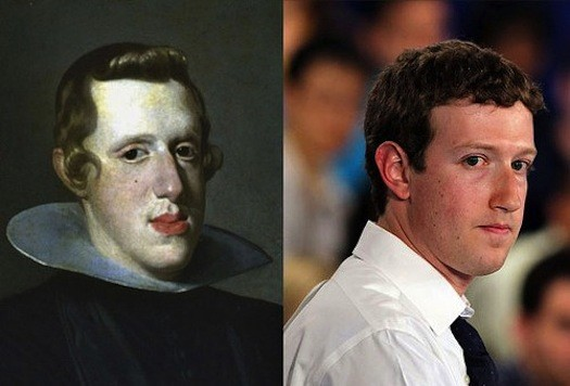 Mark Zuckerberg and Revolutionary War-Era Figure