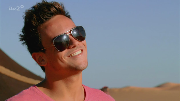 Tom Daley in Morocco