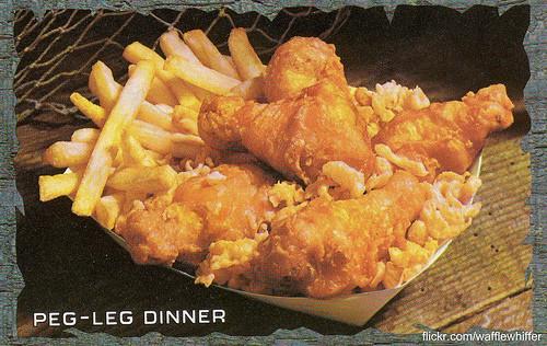 Long John Silver's Peg-Leg Dinner