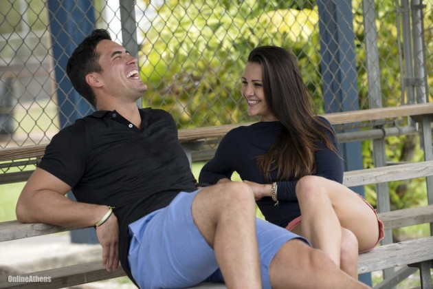Andi Dorfman and Josh Murray Photo
