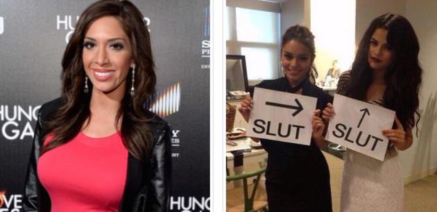Farrah Abraham vs. Selena Gomez/Vanessa Hudgens