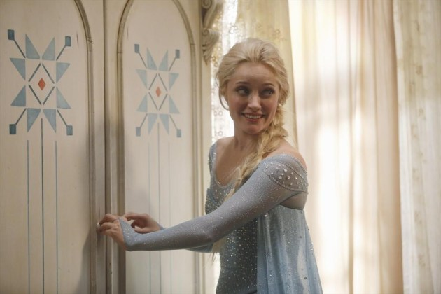 Queen Elsa on Once Upon a Time