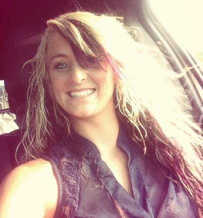 Leah Messer, Curly Hair