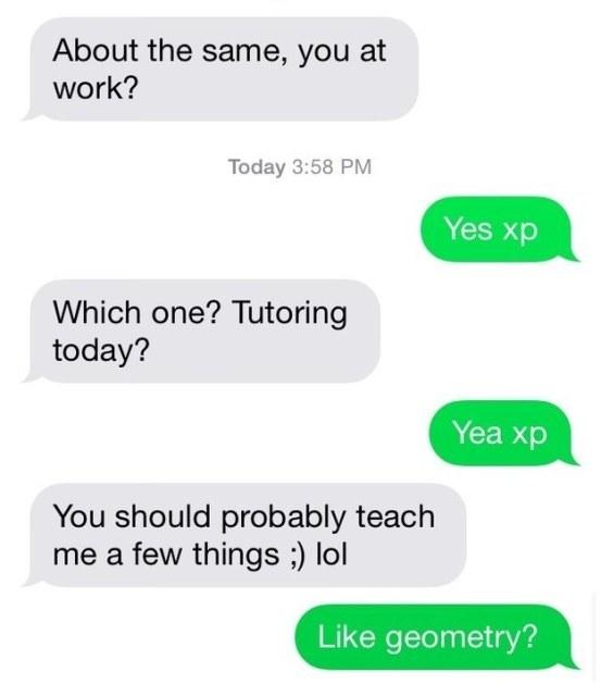 Teach Me ...