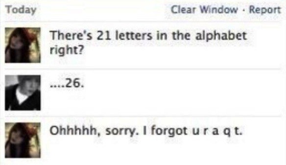 21 Letters