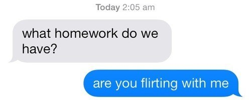 Are You Flirting?