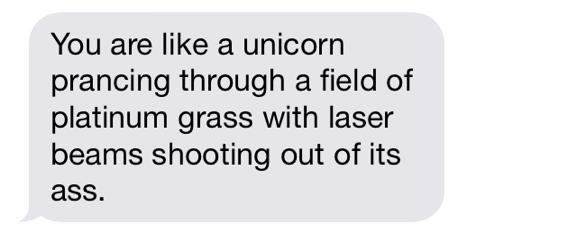 You're Like a Unicorn