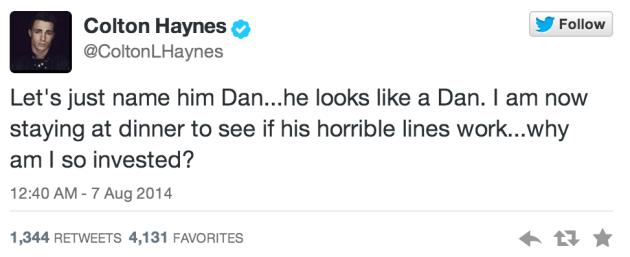 Dan is NOT The Man.