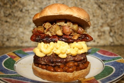 Backyard Blowout Burger