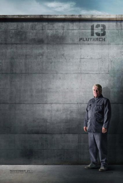 Philip Seymour Hoffman as Plutarch