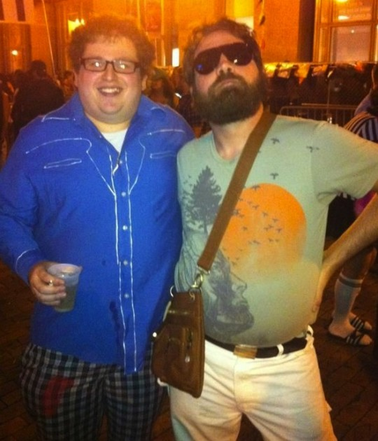 Jonah Hill and Zach Galifianakis