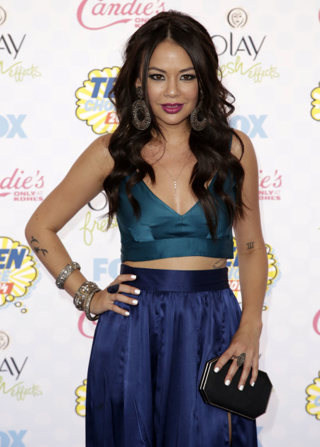 Janel Parrish at the 2014 Teen Choice Awards