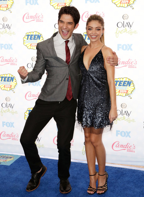 Tyler Posey and Sarah Hyland
