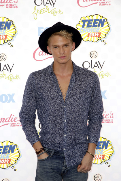 Cody Simpson at the 2014 Teen Choice Awards