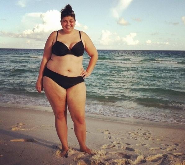 #FatKini Modeling
