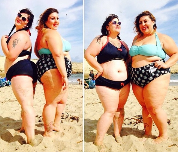Double Fatkini Action