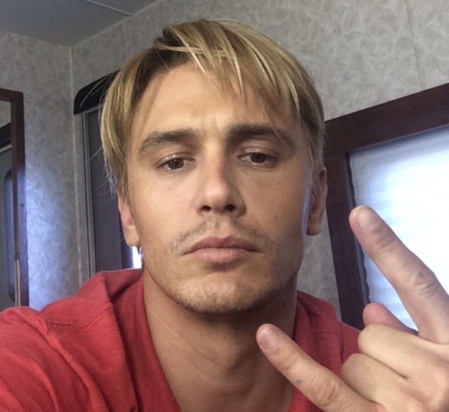 James Franco Blonde Hair