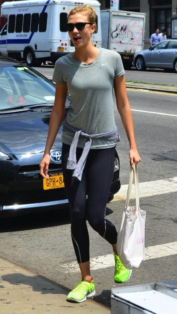 Karlie Kloss in NYC