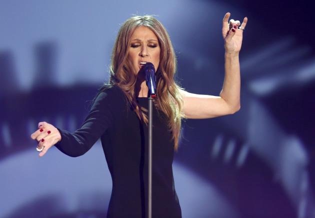 Celine Dion Was...