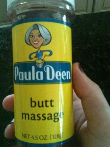 Paula Deen Butt Massage