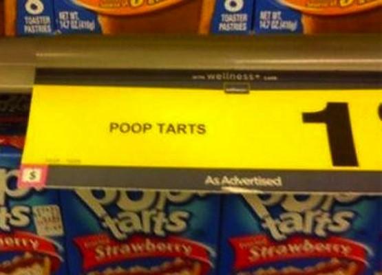 Poop Tarts