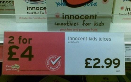 Innocent Kids Juices