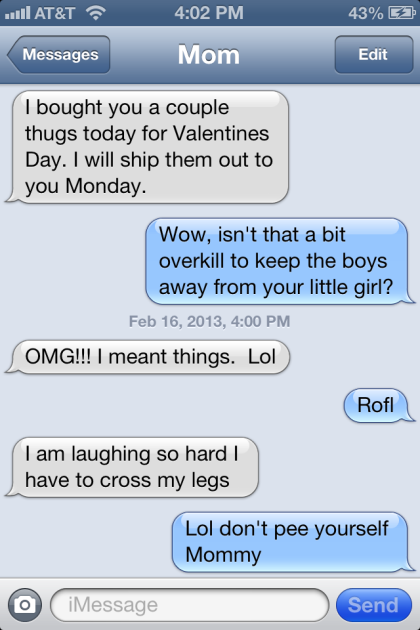 Thug life 37 hilarious text message fails by mom the hollywood
