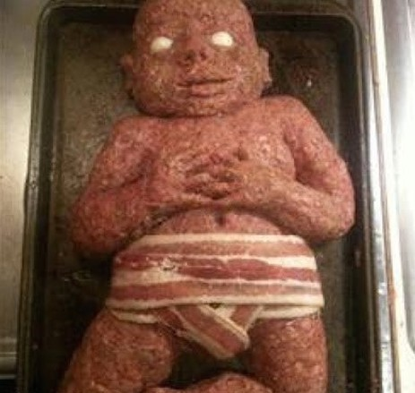 A meat baby
