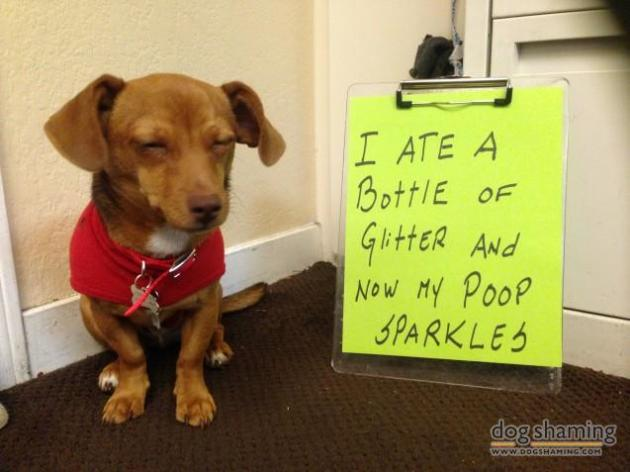 Poop sparkler.