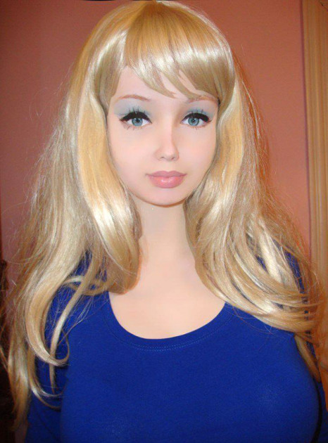Human Barbie Wannabe