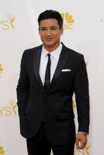 Mario Lopez at the Emmys