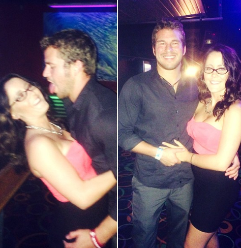 Nathan Griffith Licks Jenelle Evans