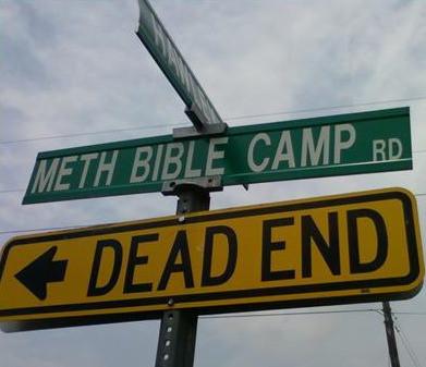 Meth Bible Camp Rd.