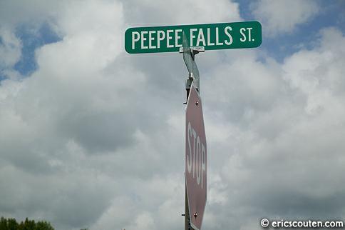Peepee Falls St.