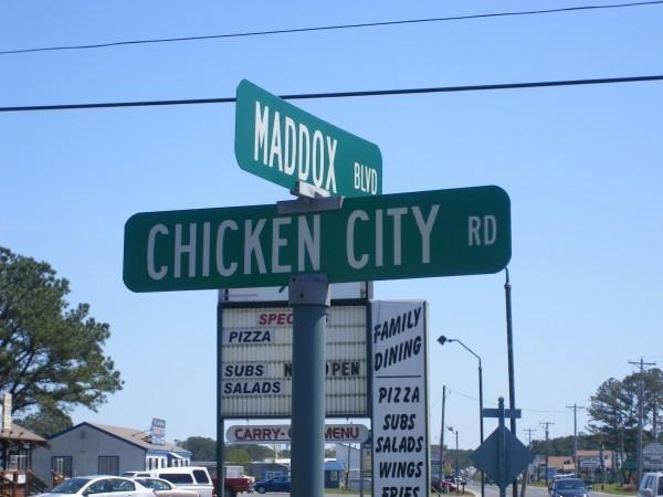 Chicken City Rd.