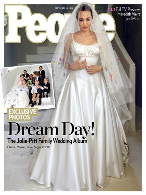 Angelina Jolie Wedding Dress