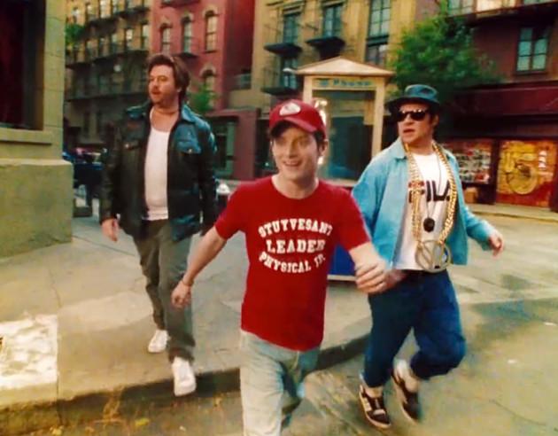 Seth Rogen, Danny McBride and Elijah Wood