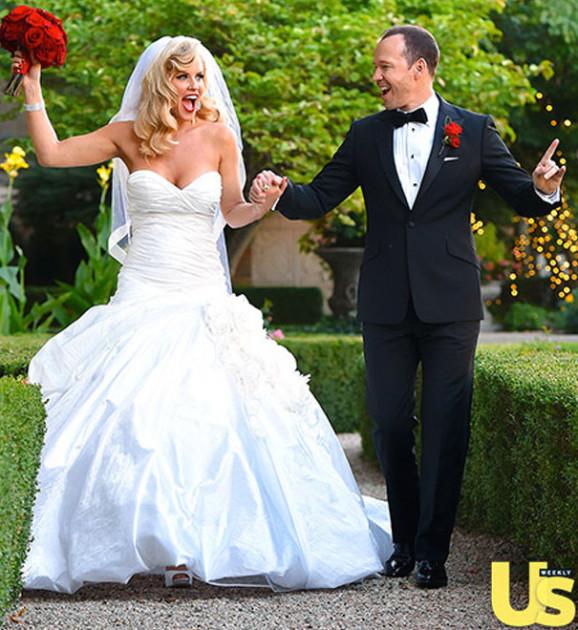 Jenny McCarthy Wedding Dress
