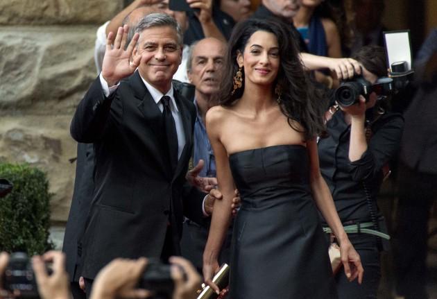 George Clooney and Amal Alamuddin: Red Carpet Debut