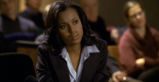 Kerry Washington on Boston Legal