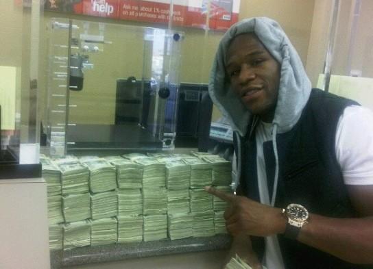 Floyd Makes a Deposit