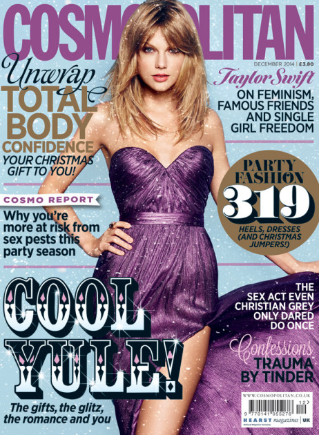 Taylor Swift on British Cosmopolitan