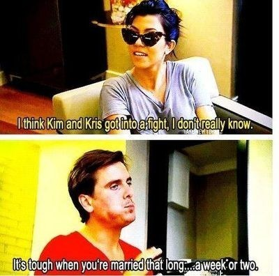 When He Ragged on Kim's Marriage