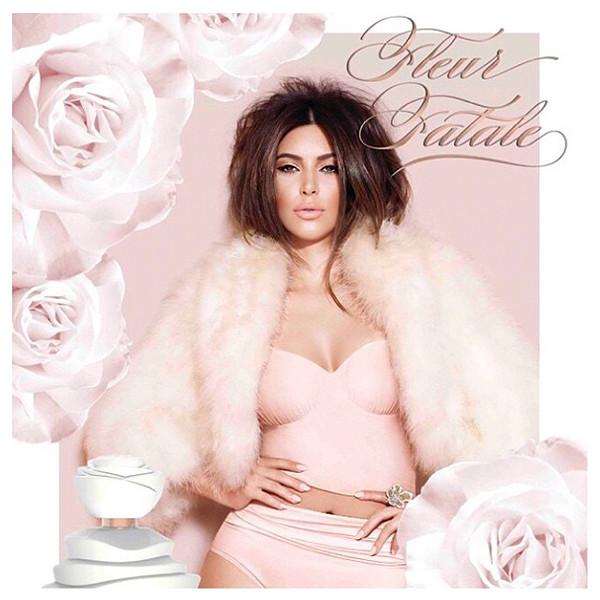 Kim Kardashian for Fleur Fatale
